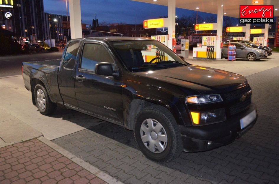 CHEVROLET COLORADO 3.5 220KM 2005R LPG