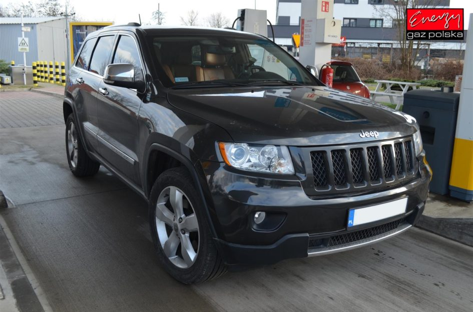 JEEP GRAND CHEROKEE 5.7 V8 352KM 2011R LPG