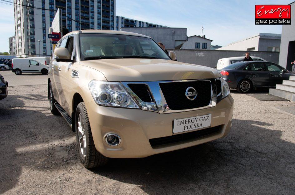 Nissan Patrol 5.5 405KM 2011R LPG