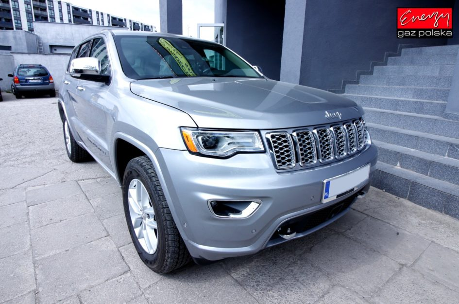 JEEP GRAND CHEROKEE 5.7 364KM 2017R lpg