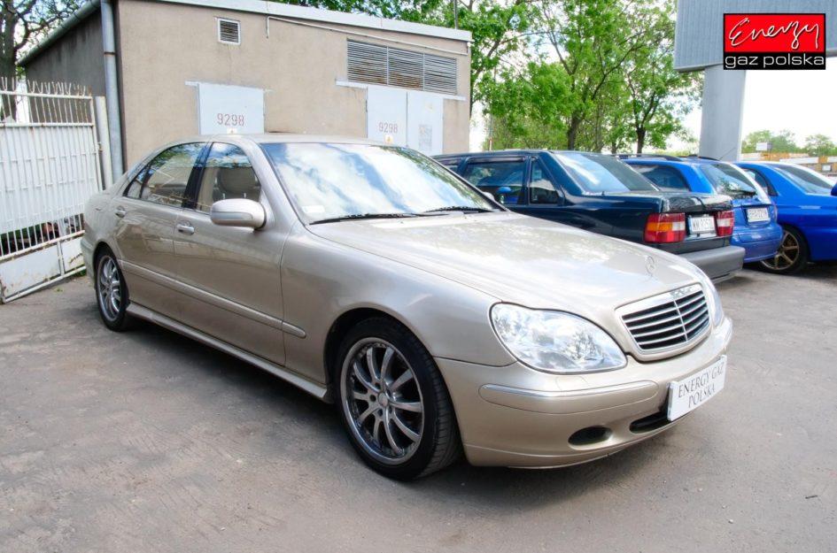 Mercedes S-Klasa 5.0 306KM 1999R LPG