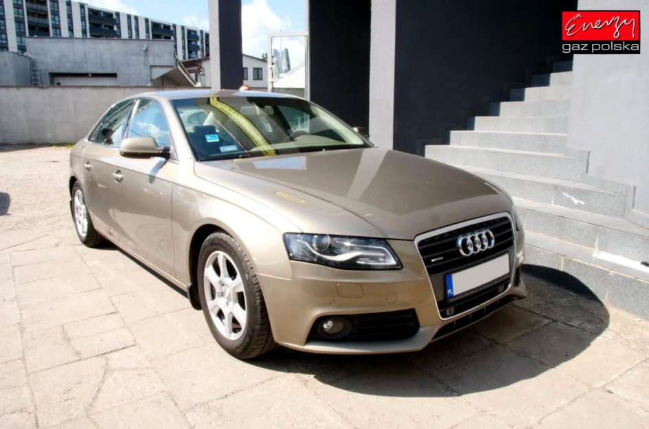 Audi A4 B8 2.0 211KM 2010R LPG