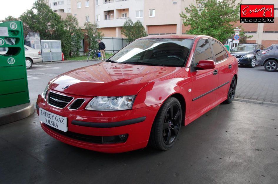 Saab 9-3 2.0T 210KM 2007r LPG