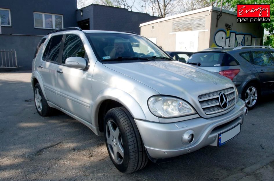 Mercedes ML55 AMG 5.5 354KM 2002r LPG