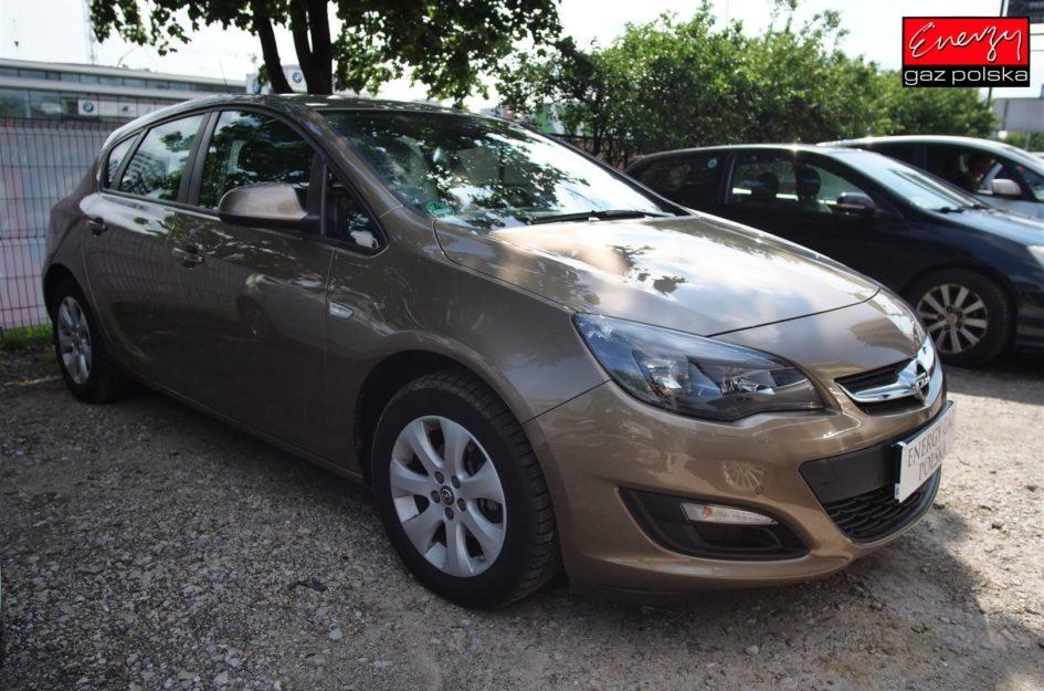 Opel Astra 1.4T 120KM 2014R LPG