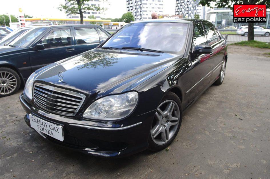 Mercedes W220 AMG 5.5 360KM 2002R LPG