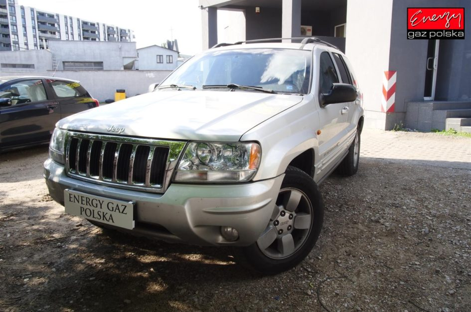 Jeep Grand Cherokee 4.7 V8 230KM 2004R LPG