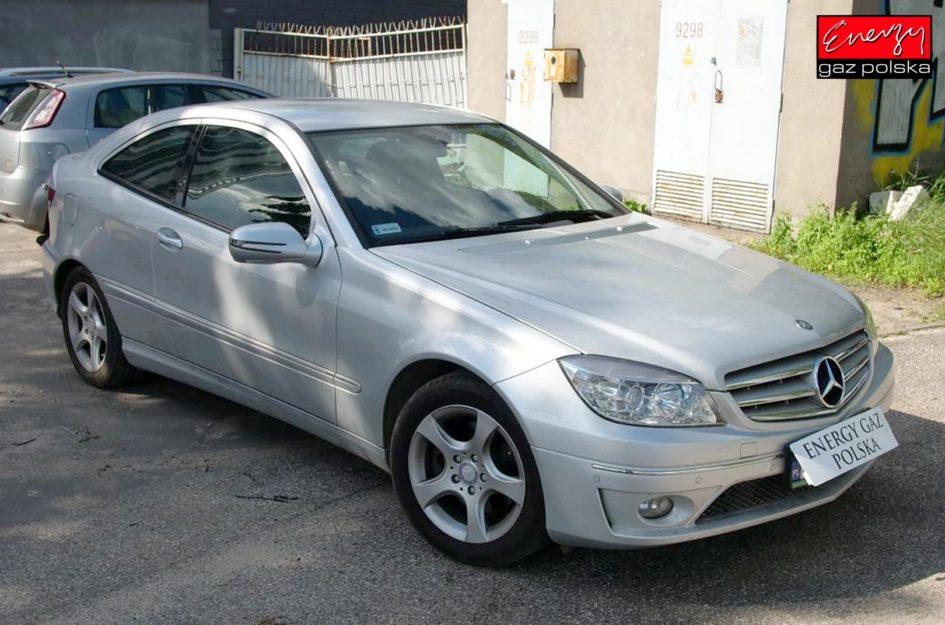 Mercedes CLC 1.8 184KM 2009R LPG