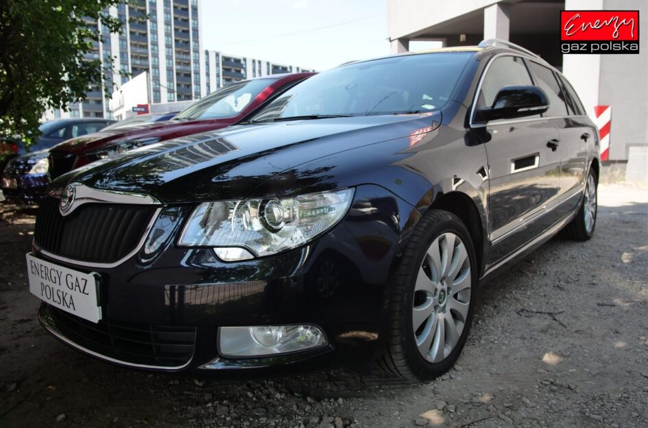 Skoda Superb 3.6 260KM 2013R LPG