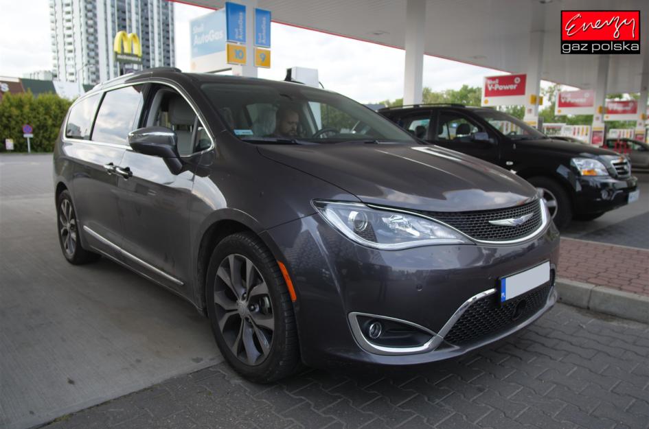 Chrysler Pacifica 3.6 291KM 2019R LPG