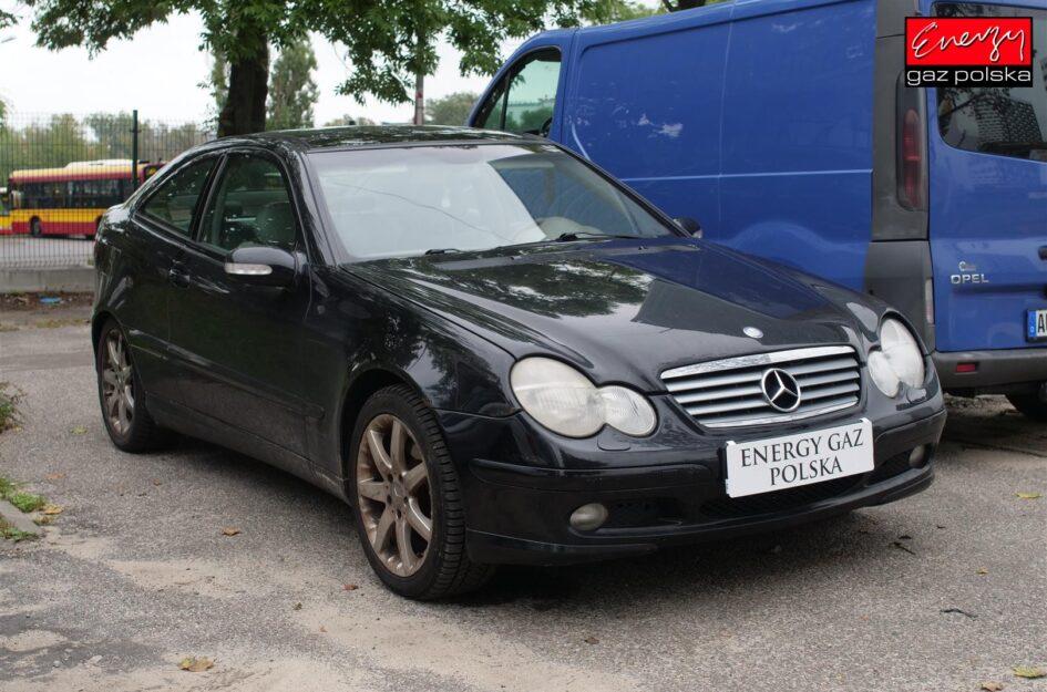 Mercedes W203 Sport Coupe 2.3 194KM 2002R LPG