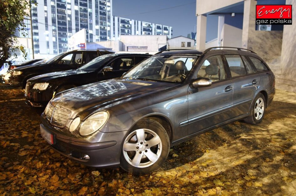 Mercedes E Klasa 1.8 163KM 2005R LPG