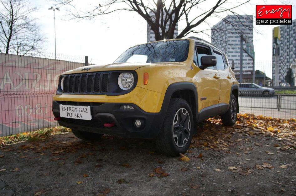 Jeep Renegade 2.4 170KM 2016R LPG