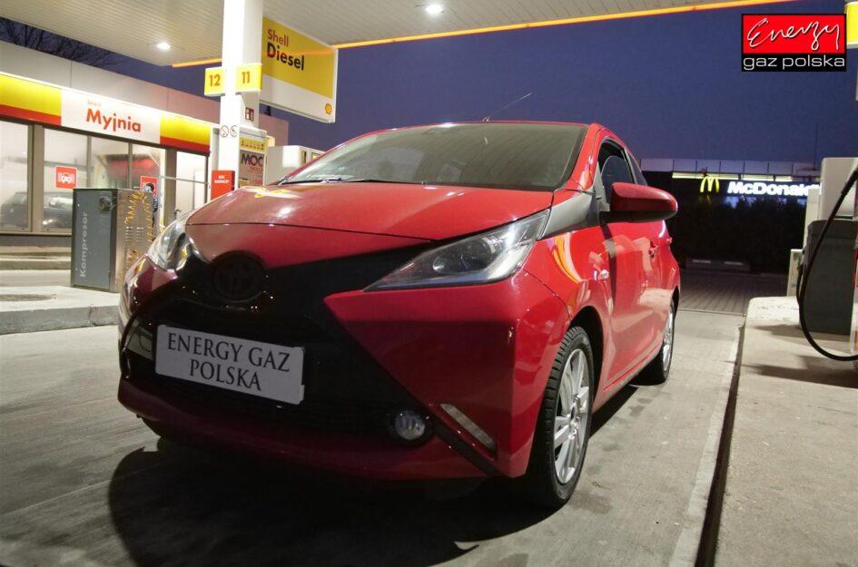 Toyota AYGO 1.0 69KM 2010r LPG