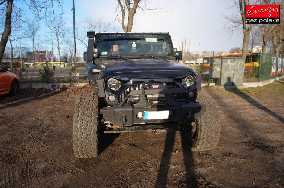Jeep Wrangler 3.6 350KM 2014r LPG