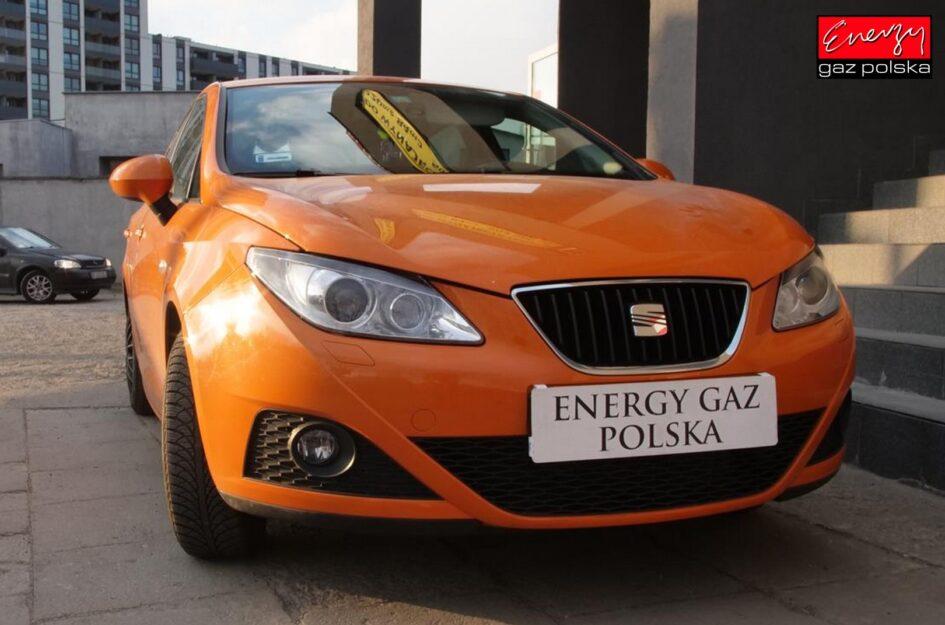 Seat Ibiza 1.6 105KM 2009r LPG