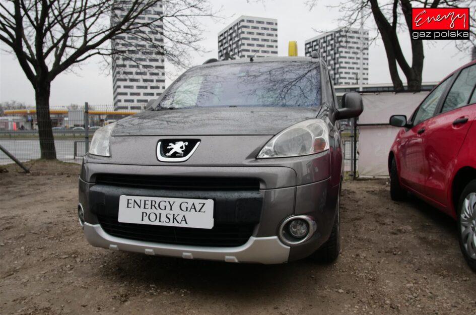 Peugeot Partner 1.6 109KM 2009r LPG