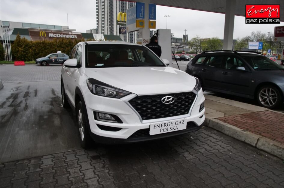 Hyundai Tucson 1.6 132KM 2018r LPG