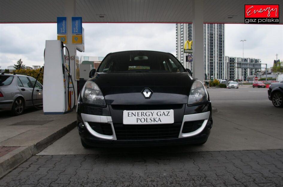 Renault Scenic 1.4 130KM 2011r LPG