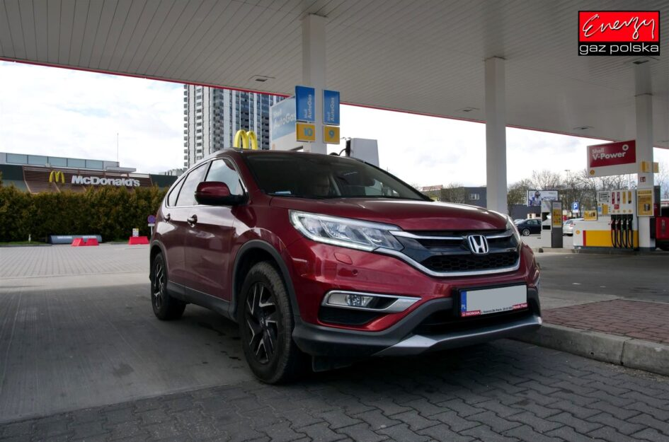 Honda CR-V 2.0 155KM 2016r LPG